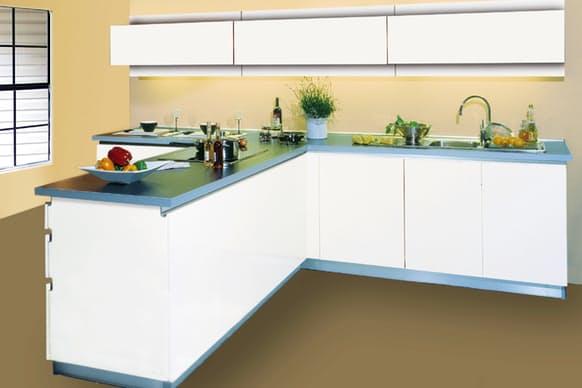 Küchen - Twin weiß - Adam Küchen