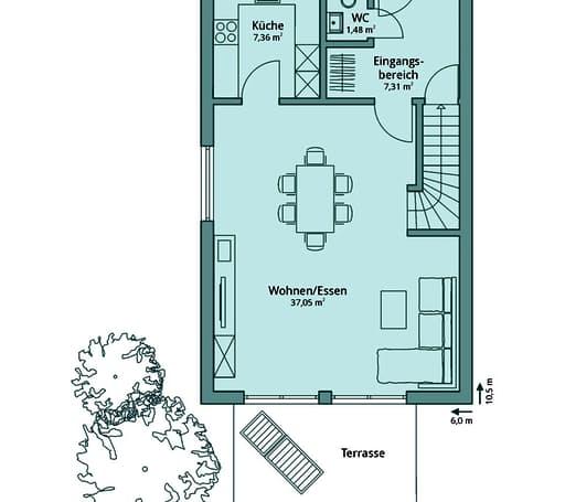Talbau Haus 100 Floorplan 1