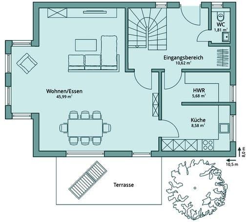 Talbau Haus 101 Floorplan 1
