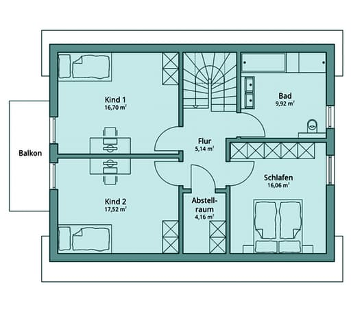 Talbau Haus 101 Floorplan 2
