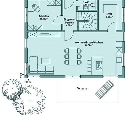 Talbau Haus 103 Floorplan 1