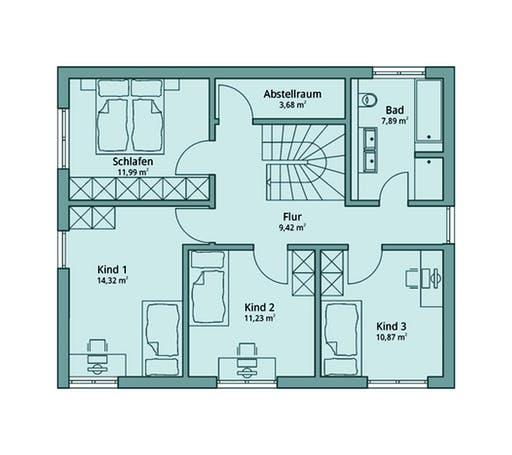 Talbau Haus 103 Floorplan 2