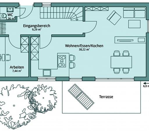 Talbau Haus 104 Floorplan 1