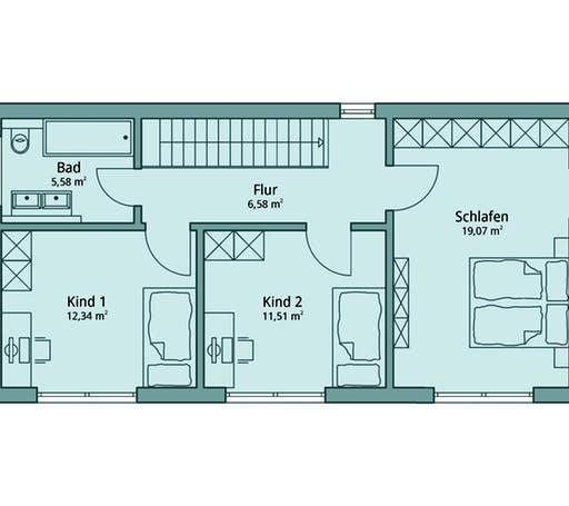 Talbau Haus 104 Floorplan 2