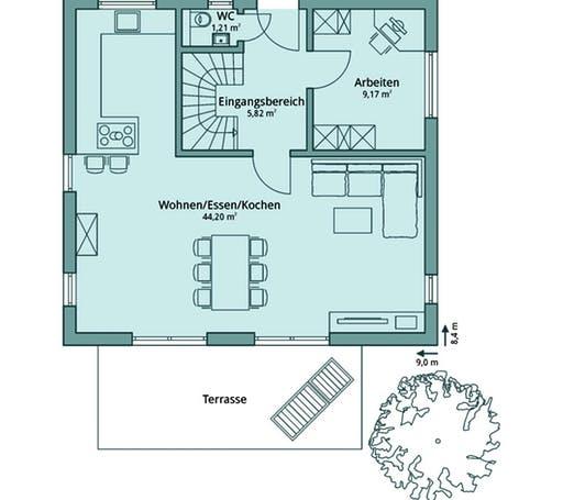 Talbau Haus 106 Floorplan 1