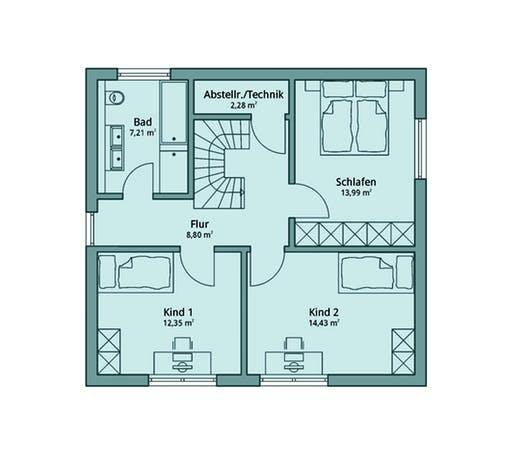 Talbau Haus 106 Floorplan 2