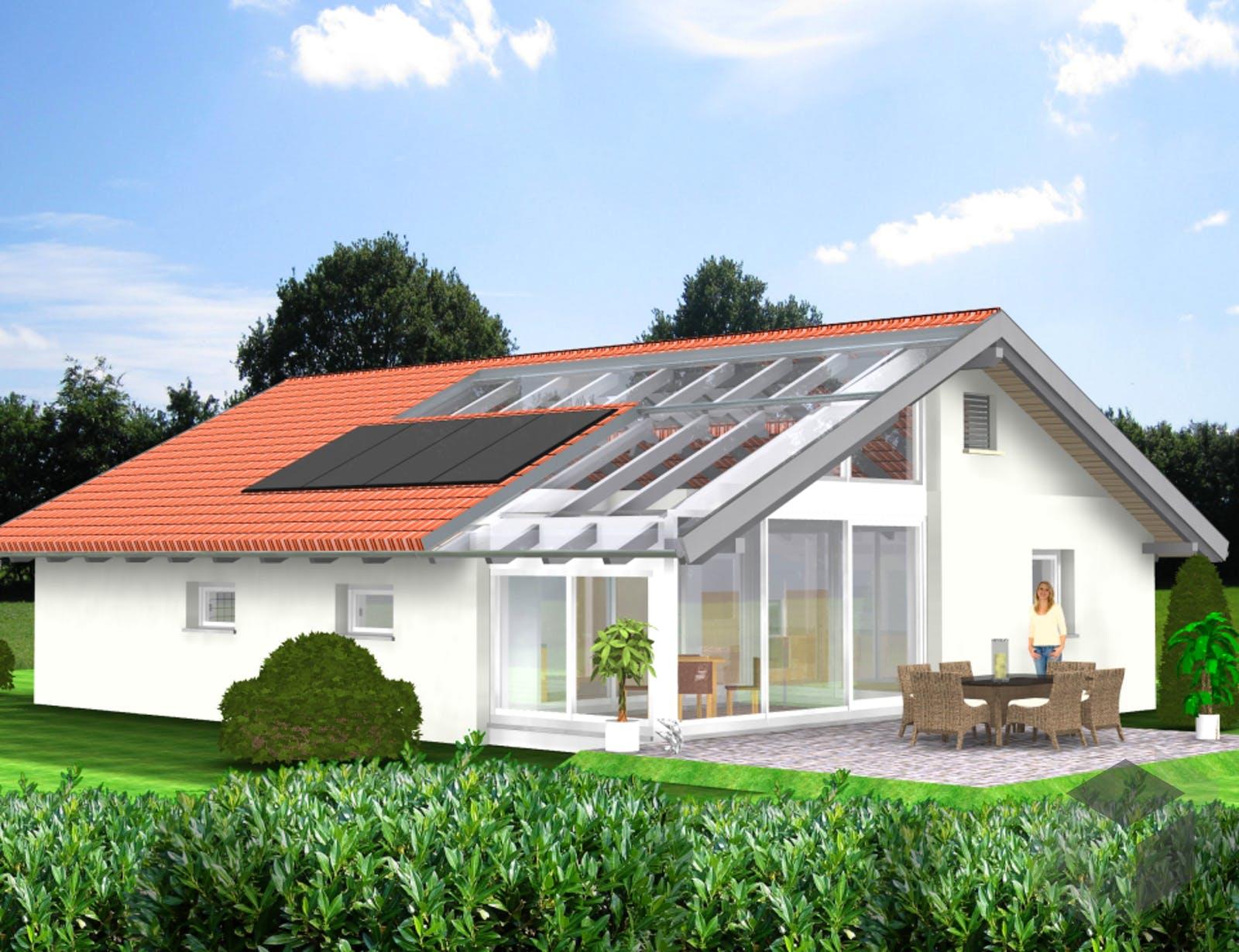 planungsbeispiel 108h10 von bio solar haus. Black Bedroom Furniture Sets. Home Design Ideas