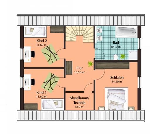 Talbau Haus 111 Floorplan 2