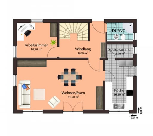 Talbau Haus 111 Floorplan 1