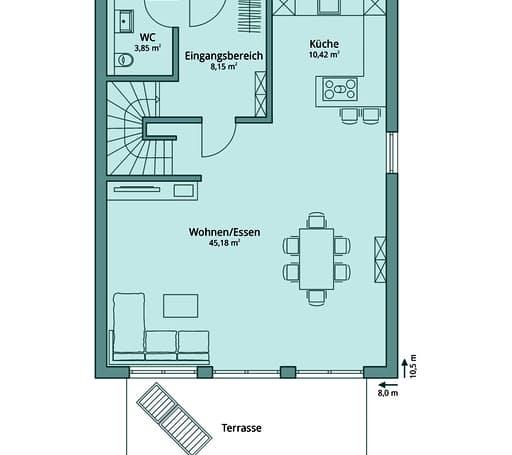 Talbau Haus 115 Floorplan 1