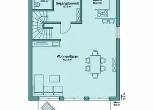 Haus 115 Grundriss