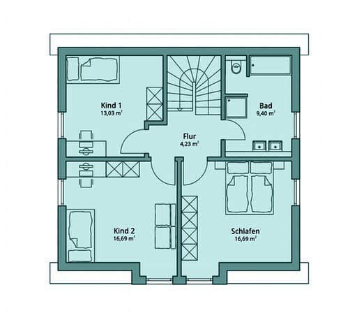 Talbau Haus 117 Floorplan 2