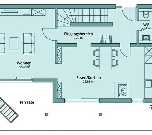 Talbau Haus 119 Floorplan 1
