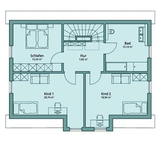 Talbau Haus 120 Floorplan 2