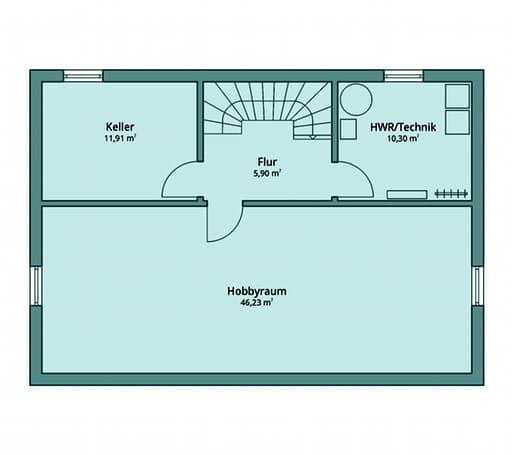 Talbau Haus 120 Floorplan 3