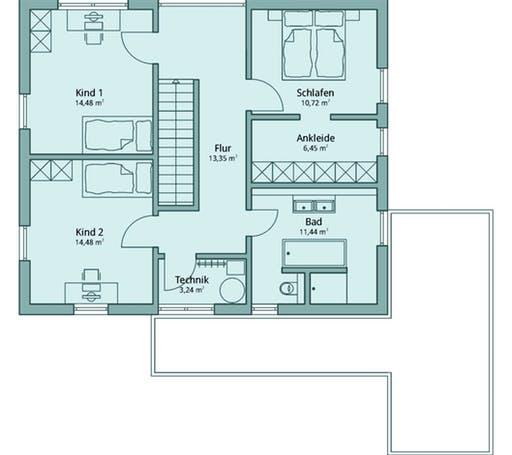 Talbau Haus 121 Floorplan 2