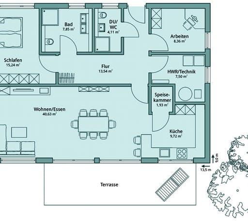 Talbau Haus 123 Floorplan 1
