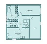 Haus 125 Grundriss