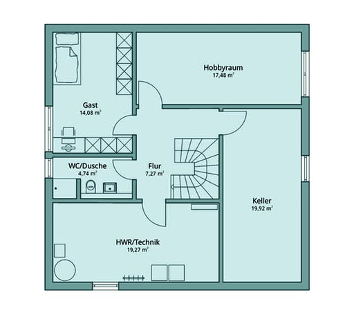 Talbau Haus 125 Floorplan 4