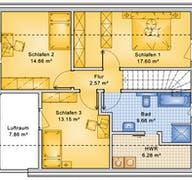 Planungsbeispiel 125H15 Grundriss