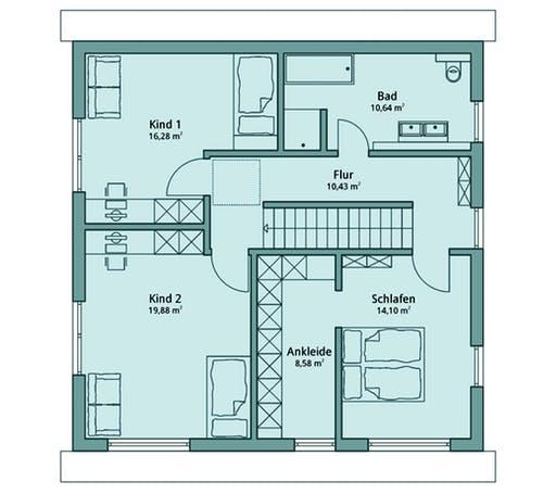 Talbau Haus 127 Floorplan 2