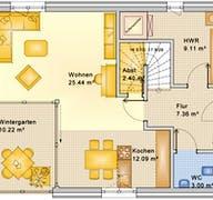 Planungsbeispiel 128H20 Grundriss