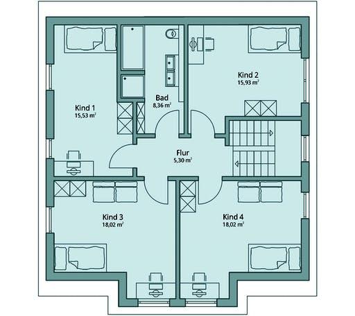 Talbau Haus 129 Floorplan 3