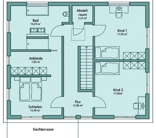 Talbau Haus 130 Floorplan 2