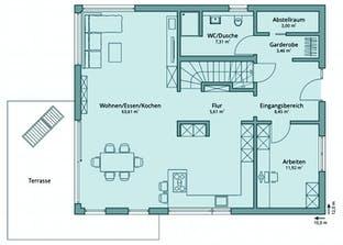 Haus 131 Grundriss