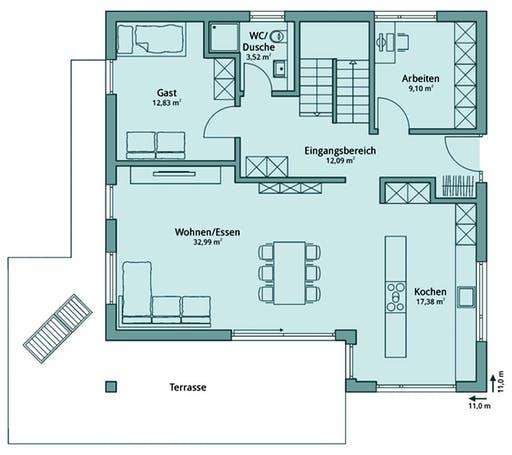 Talbau Haus 132 Floorplan 1