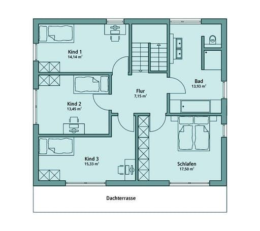 Talbau Haus 132 Floorplan 2