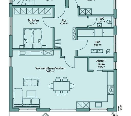 Talbau Haus 133 Floorplan 1