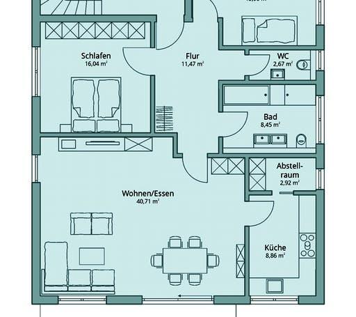 Talbau Haus 133 Floorplan 2