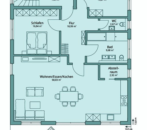 Haus 133 Floorplan 1