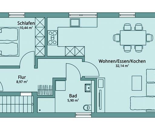 Talbau Haus 134 Floorplan 1