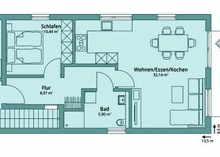 Haus 134 Grundriss