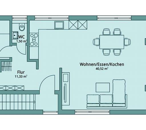 Talbau Haus 134 Floorplan 2