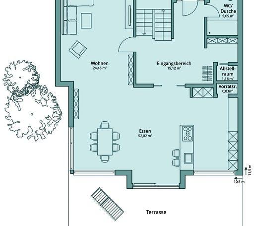 Talbau Haus 135 Floorplan 1