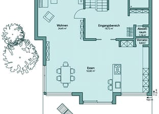 Haus 135 Grundriss