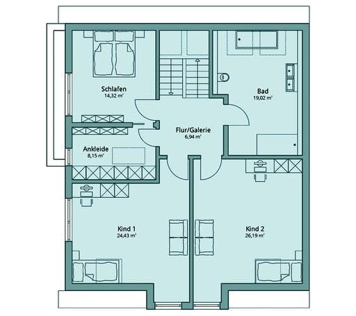 Talbau Haus 135 Floorplan 2