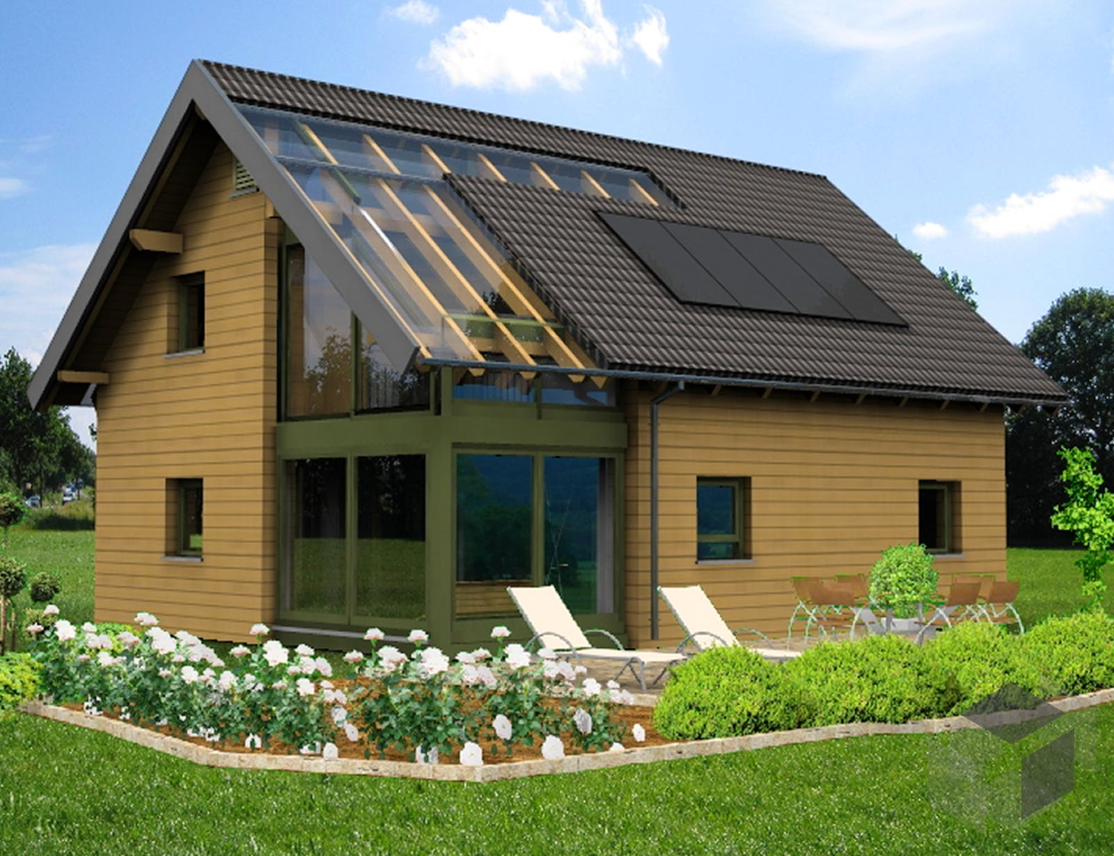 planungsbeispiel 139h15 von bio solar haus komplette daten bersicht. Black Bedroom Furniture Sets. Home Design Ideas