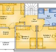 Planungsbeispiel 139H15 Grundriss