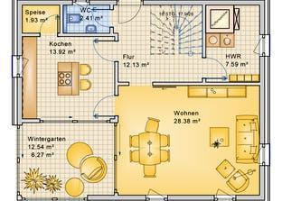 Planungsbeispiel 139H20 Grundriss