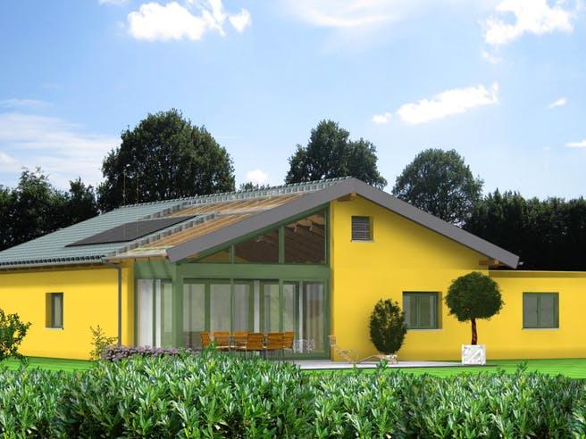Bio-Solar-Haus - Planungsbeispiel 145H10 Exterior 1