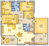 Planungsbeispiel 145H10 Grundriss
