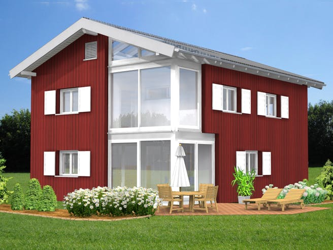 Bio-Solar-Haus - Planungsbeispiel 152H20 Exterior 1
