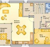Planungsbeispiel 152H20 Grundriss