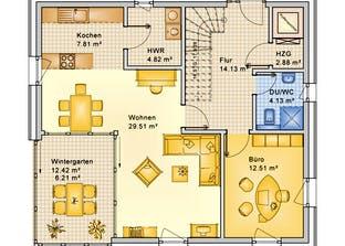 Planungsbeispiel 159SB20 Grundriss