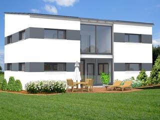Planungsbeispiel 168H20 von Bio-Solar-Haus Außenansicht 1