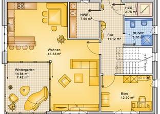 Planungsbeispiel 183H20 Grundriss